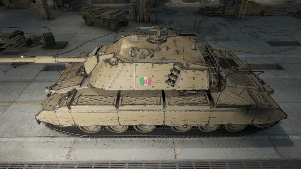 WoT Supertest: Änderungen am 🇮🇹 Progetto C45 mod. 71 ...